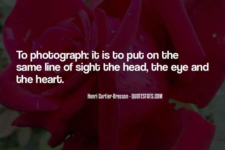 Henri Cartier-Bresson Quotes #719128