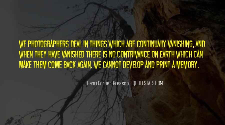 Henri Cartier-Bresson Quotes #80893