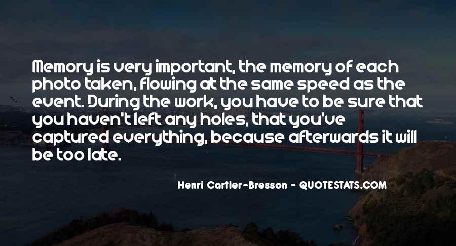 Henri Cartier-Bresson Quotes #977588