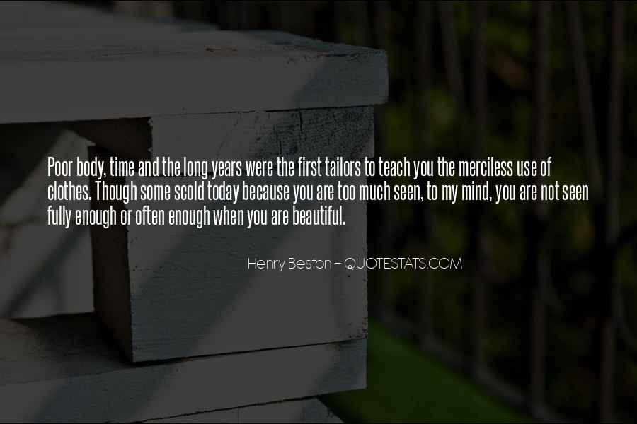 Henry Beston Quotes #1757716