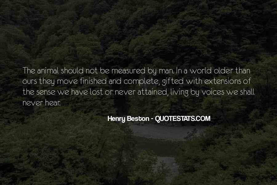 Henry Beston Quotes #668304