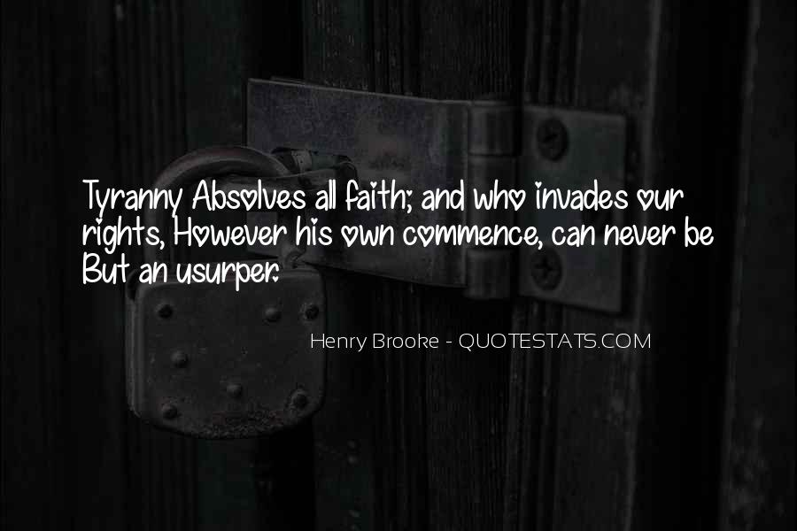Henry Brooke Quotes #323854