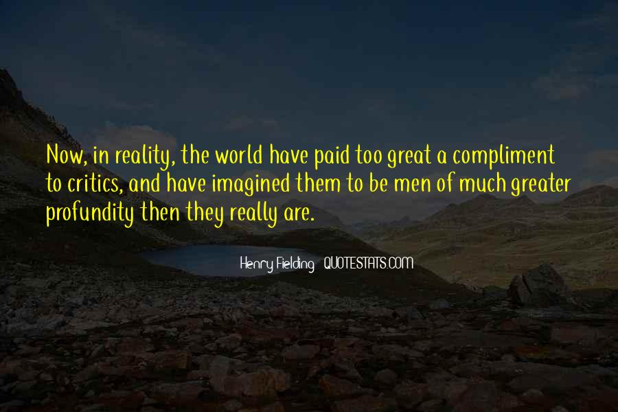 Henry Fielding Quotes #1160015