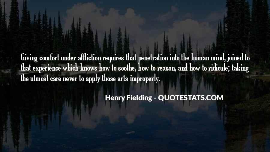 Henry Fielding Quotes #1440298
