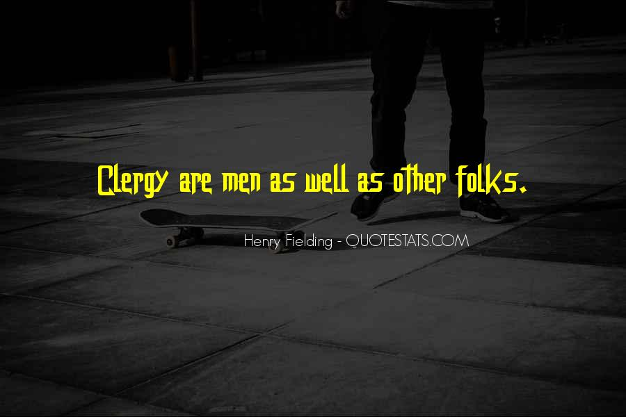 Henry Fielding Quotes #1623115