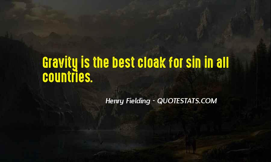 Henry Fielding Quotes #1843605