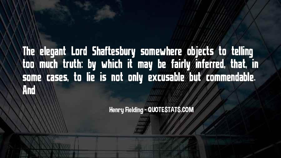 Henry Fielding Quotes #21908
