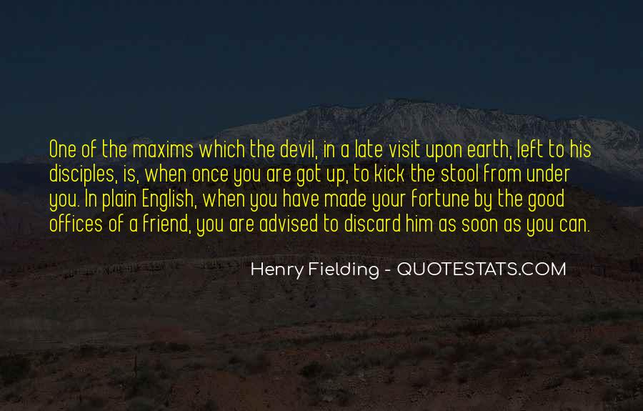 Henry Fielding Quotes #467583