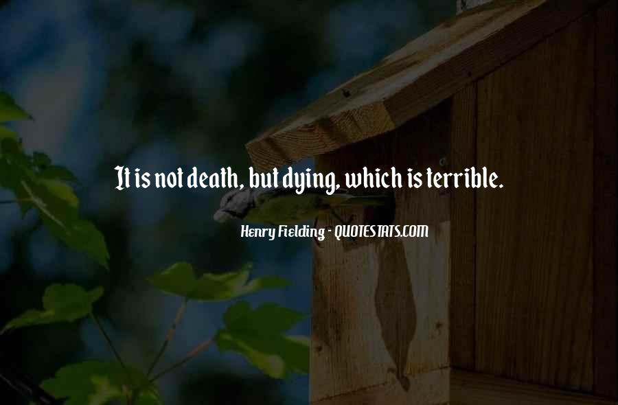 Henry Fielding Quotes #489960