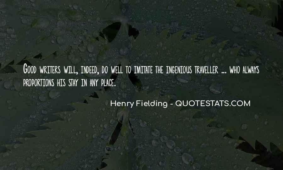 Henry Fielding Quotes #492928