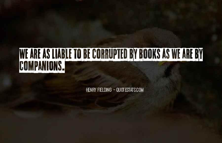 Henry Fielding Quotes #522792