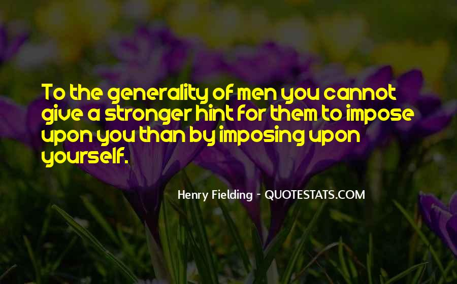 Henry Fielding Quotes #589605
