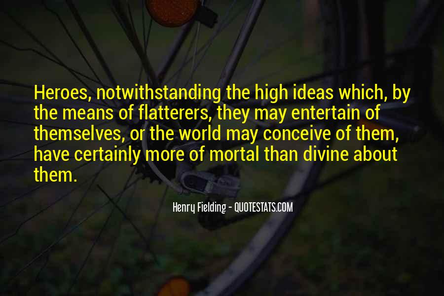 Henry Fielding Quotes #682455