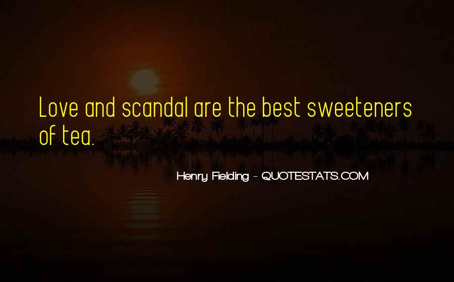 Henry Fielding Quotes #780103