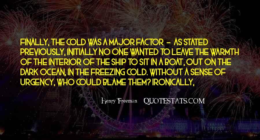 Henry Freeman Quotes #1091844