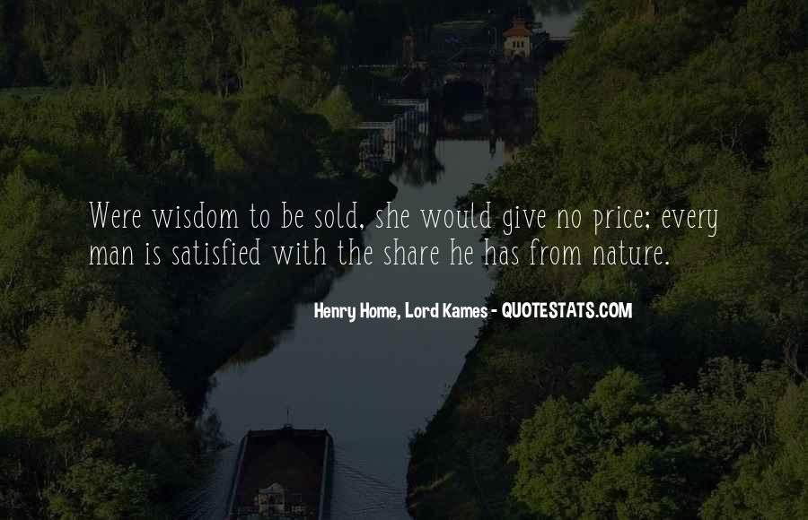 Henry Home, Lord Kames Quotes #1053267