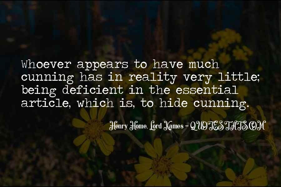 Henry Home, Lord Kames Quotes #1801931