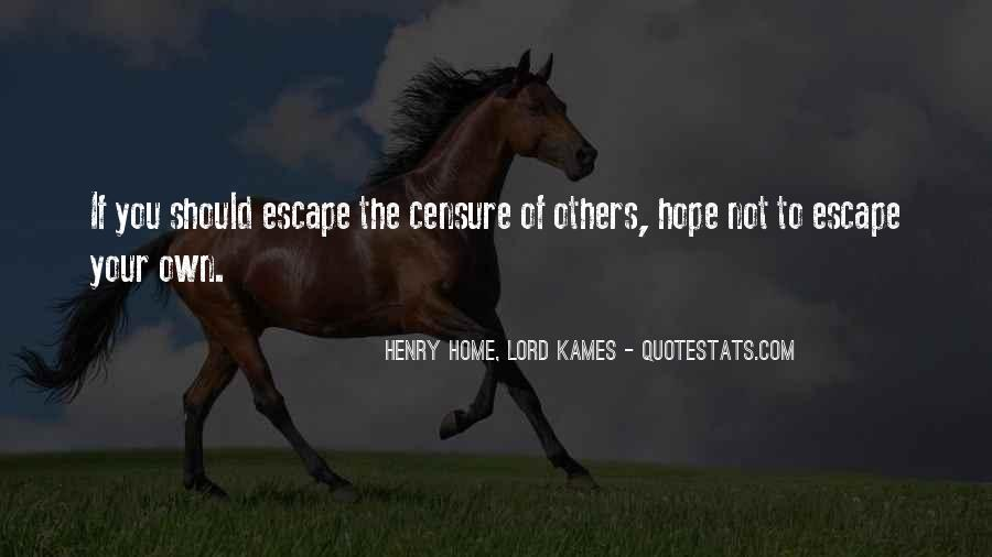 Henry Home, Lord Kames Quotes #1828859