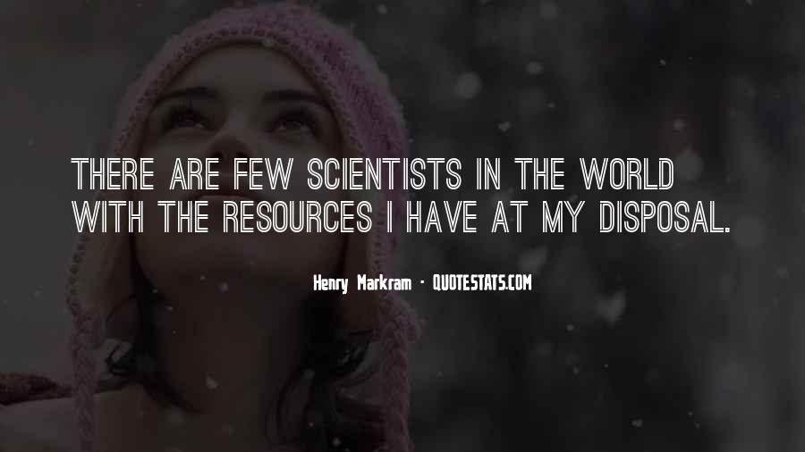 Henry Markram Quotes #684629
