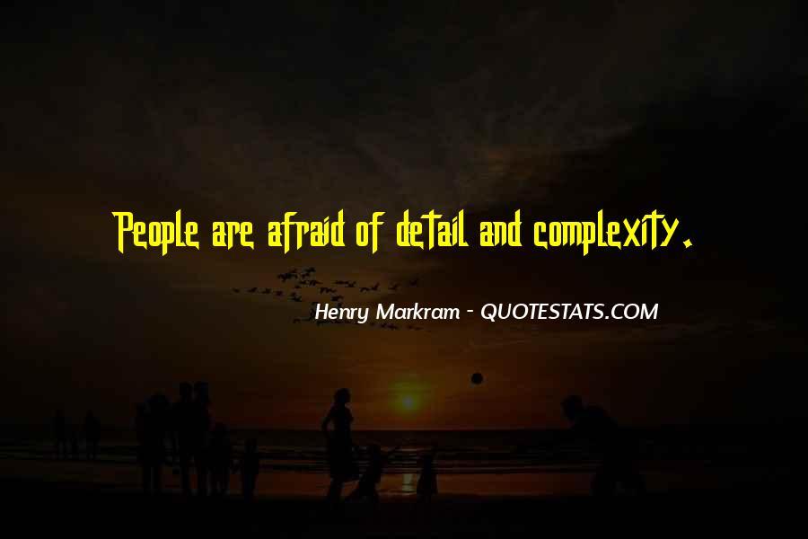 Henry Markram Quotes #69550