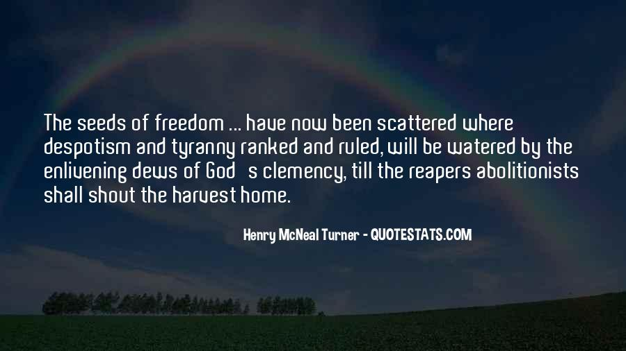 Henry McNeal Turner Quotes #688339