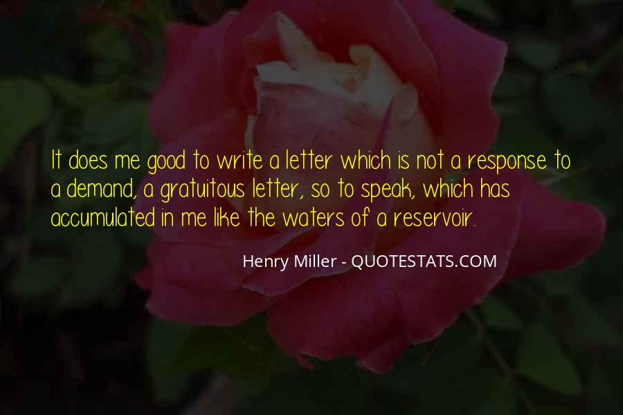Henry Miller Quotes #137518