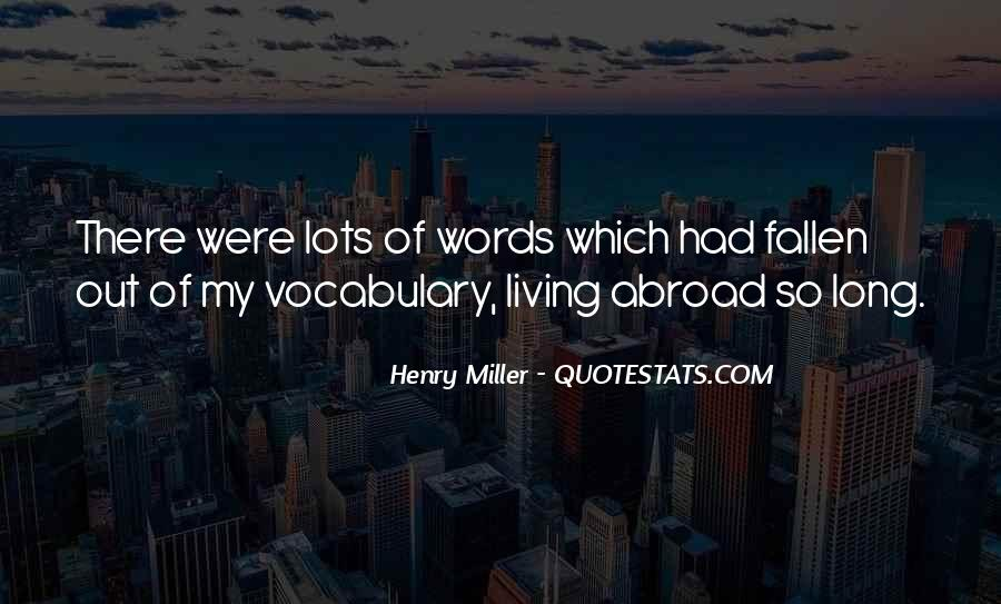 Henry Miller Quotes #277019