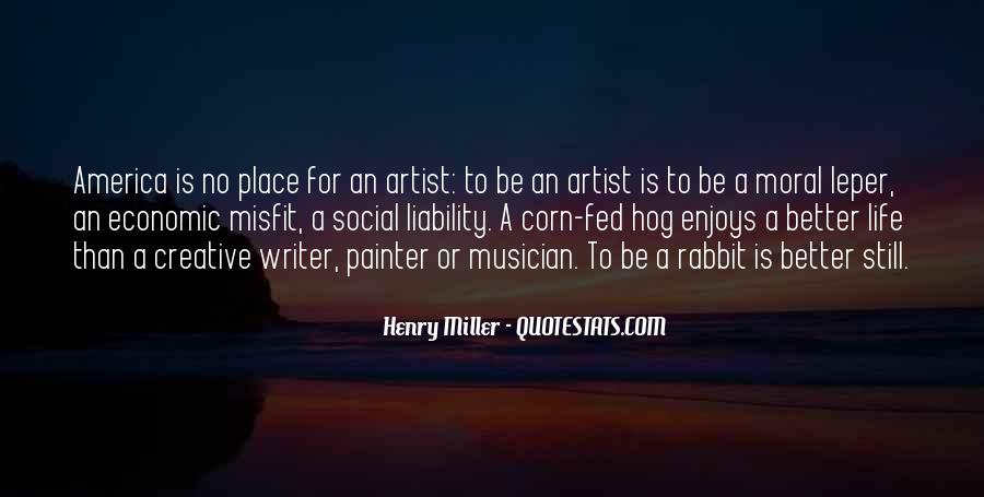 Henry Miller Quotes #282261