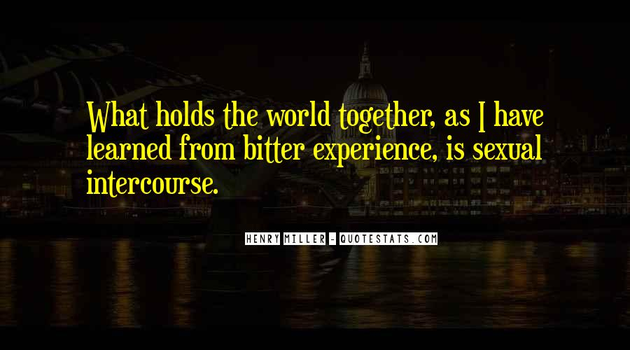 Henry Miller Quotes #394216
