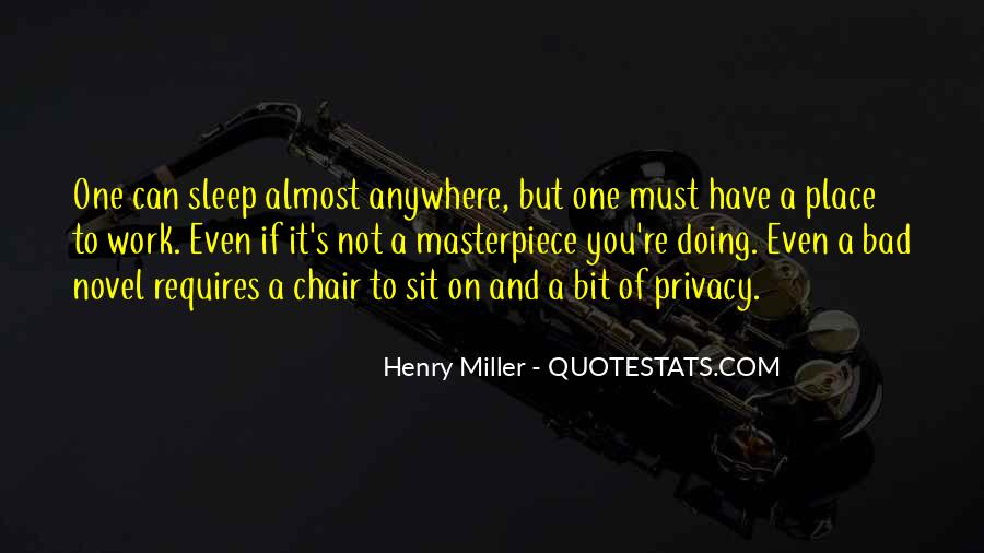 Henry Miller Quotes #430380