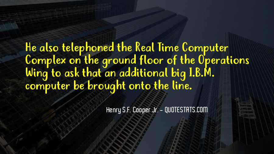 Henry S.F. Cooper Jr. Quotes #368369