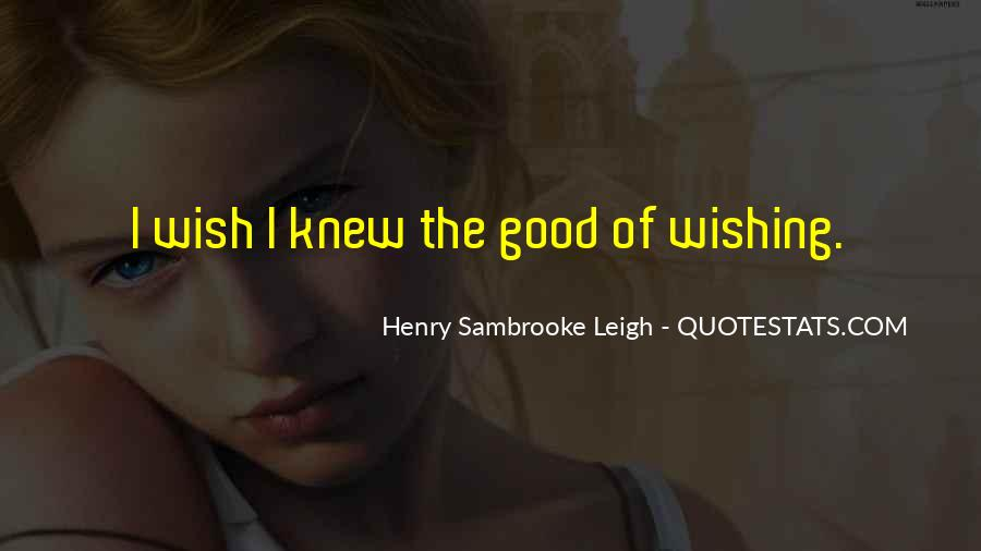 Henry Sambrooke Leigh Quotes #1500472