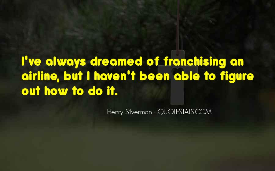 Henry Silverman Quotes #1630625