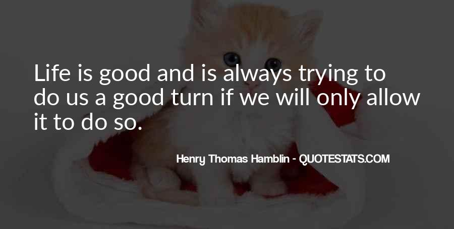 Henry Thomas Hamblin Quotes #935888