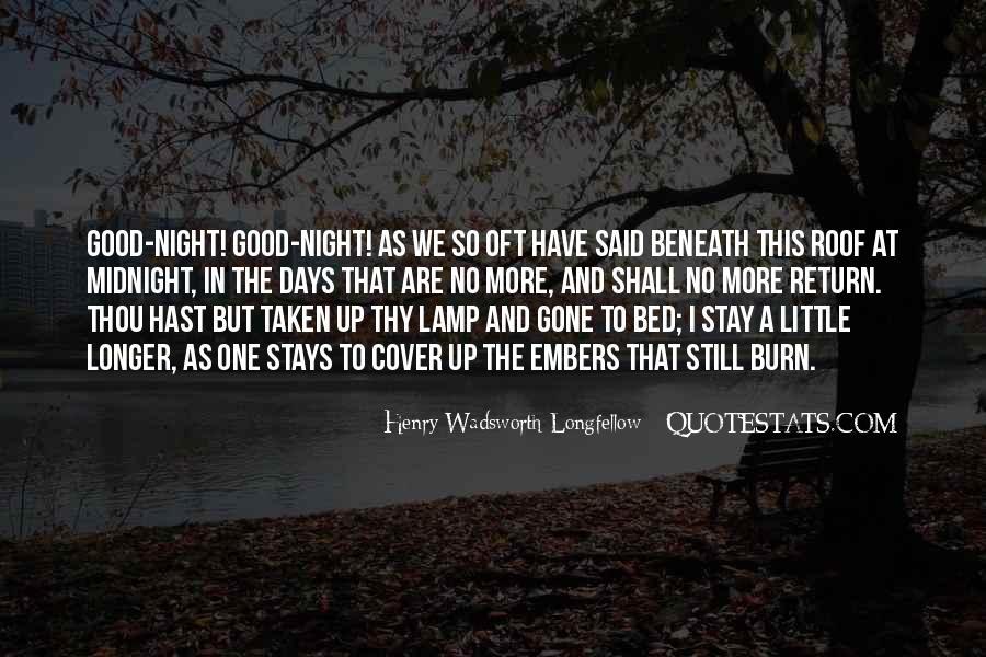 Henry Wadsworth Longfellow Quotes #1226961