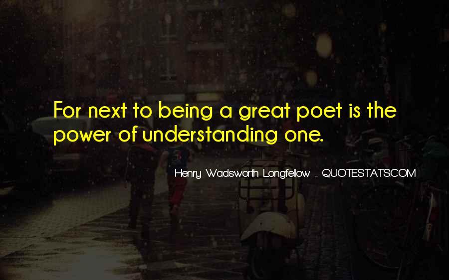 Henry Wadsworth Longfellow Quotes #1514240