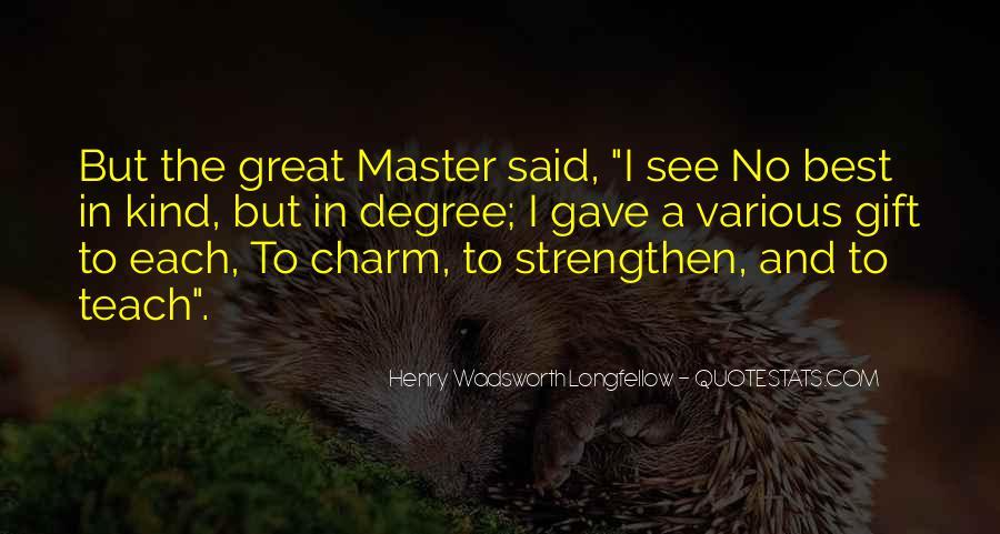 Henry Wadsworth Longfellow Quotes #1514266