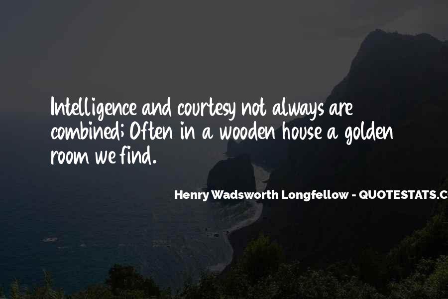 Henry Wadsworth Longfellow Quotes #1750499