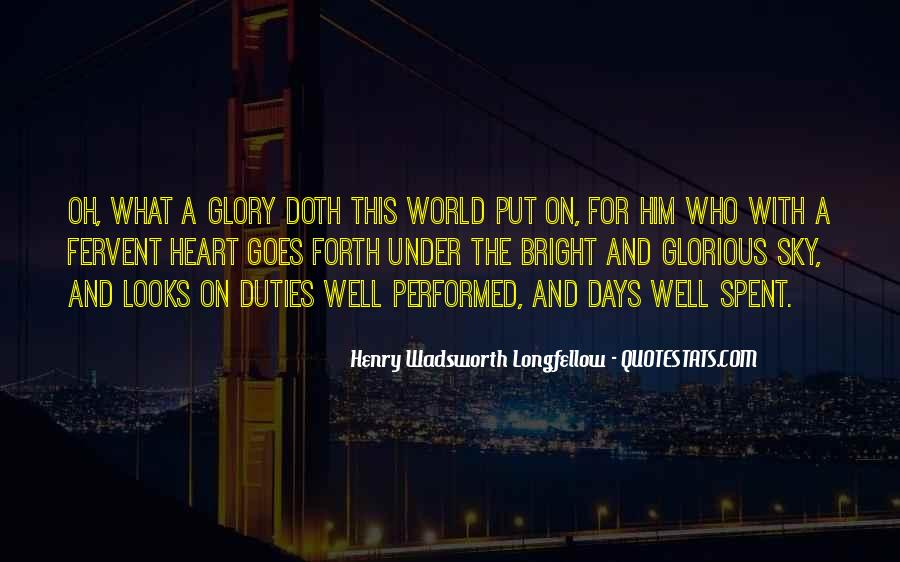 Henry Wadsworth Longfellow Quotes #562094