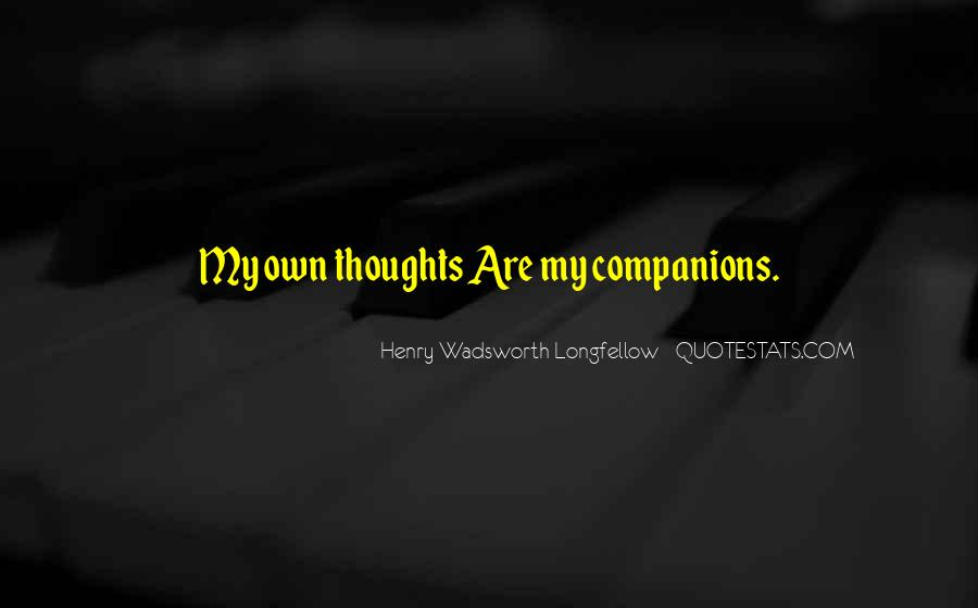 Henry Wadsworth Longfellow Quotes #689030