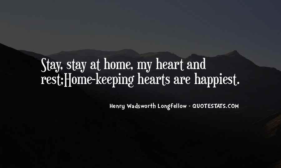Henry Wadsworth Longfellow Quotes #791597