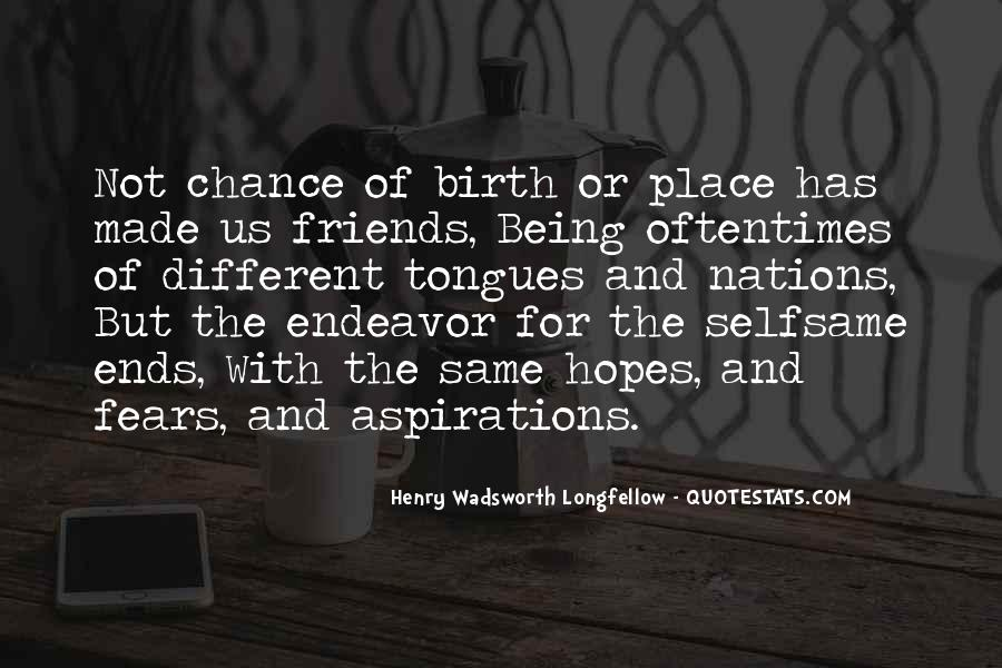 Henry Wadsworth Longfellow Quotes #908755