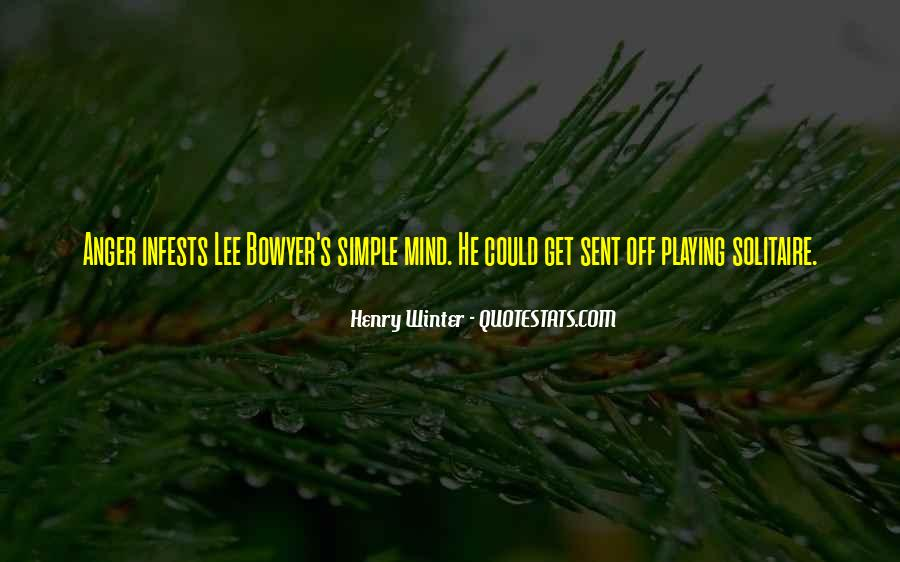 Henry Winter Quotes #1173335