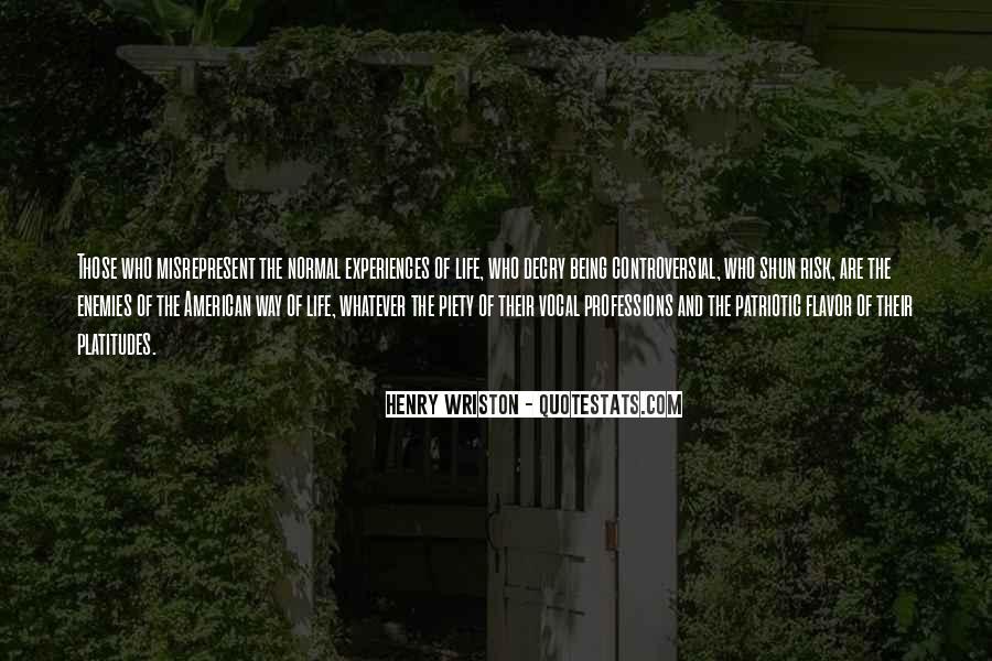 Henry Wriston Quotes #1455265
