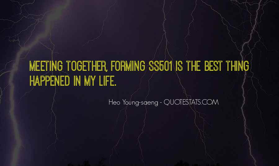 Heo Young-saeng Quotes #1295995