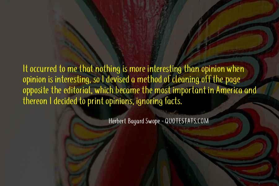 Herbert Bayard Swope Quotes #1033833