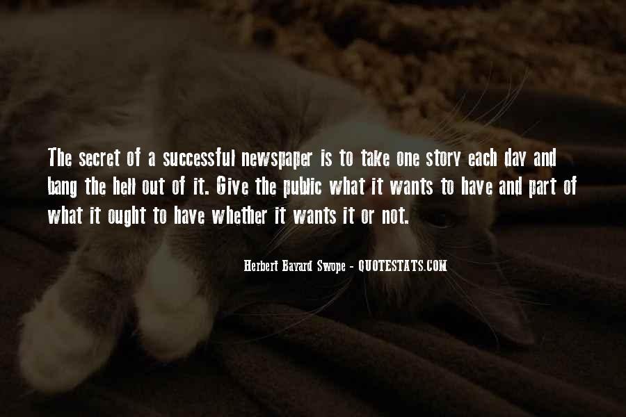 Herbert Bayard Swope Quotes #1856224
