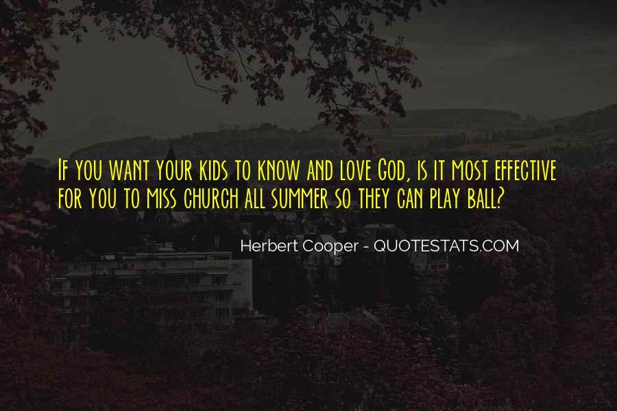 Herbert Cooper Quotes #334004