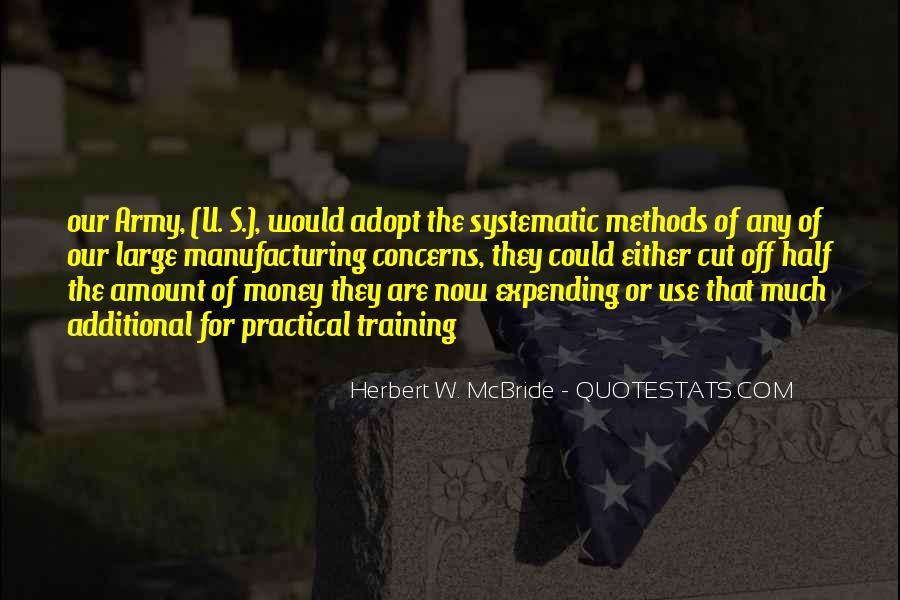 Herbert W. McBride Quotes #1586314