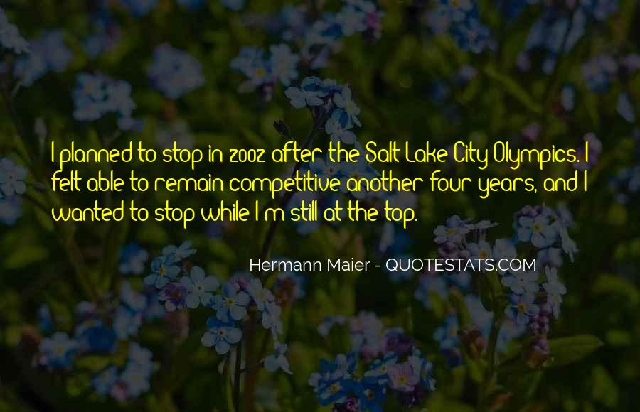 Hermann Maier Quotes #1020110